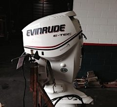 "Used 2008 Evinrude e-Tec 115 HP 25"" 624 HRS"